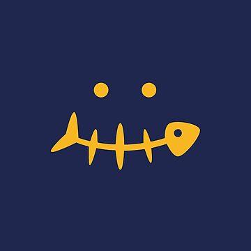 Fish Face by realmatdesign