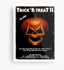 Trick 'r Treat II Poster Metal Print