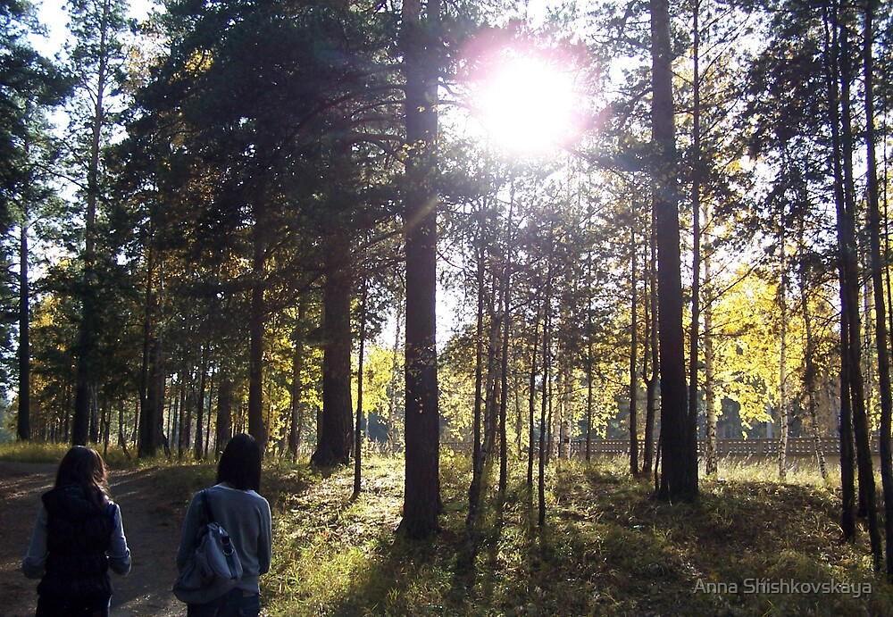 forest by Anna Shishkovskaya