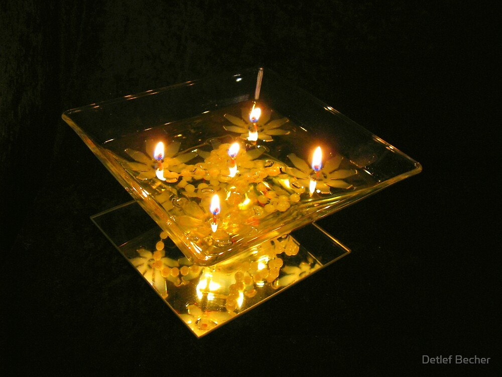 Floating Candles by Detlef Becher