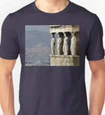 The Porch of the Caryatids of The Erechitheion Unisex T-Shirt