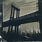 Manhattan Bridge Tintype Photography by ShellyKay