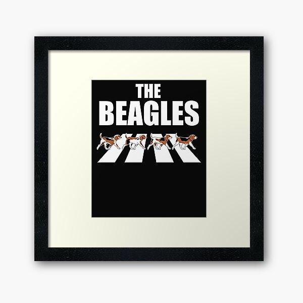La parodia de los Beagles Lámina enmarcada