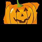Halloween Pumpkin Costume Shirt Oregon by shoppzee