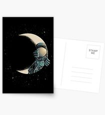 Crescent moon Postcards