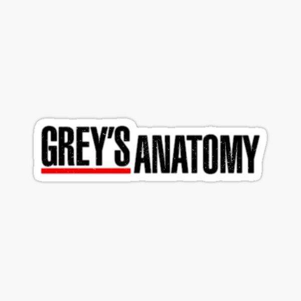Anatomie grise Sticker
