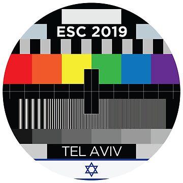 ESC testcard [2019, Tel Aviv] by lazarusheart
