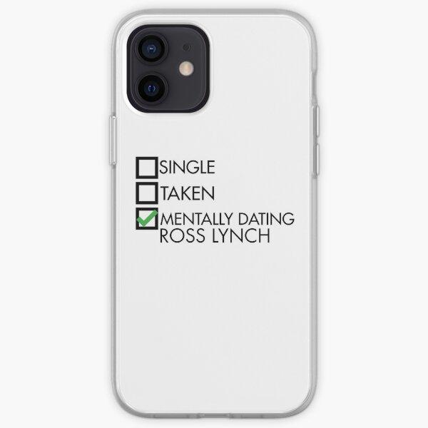 mentally dating ross lynch Funda blanda para iPhone