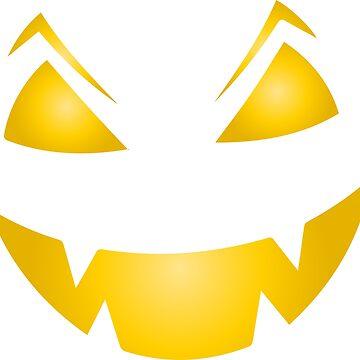 Pumpkin face by emphatic
