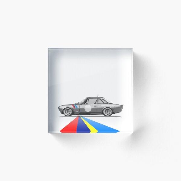 Peugeot 504 Coupé | Café Racer Acrylic Block