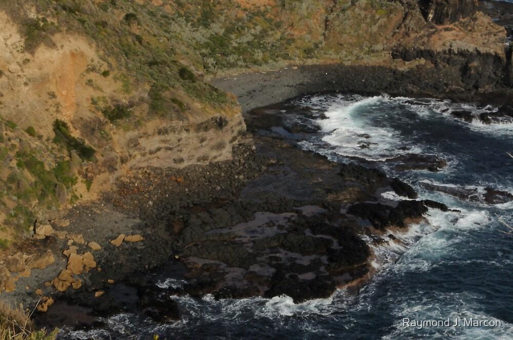 Rocky Cove 1. by Raymond J. Marcon
