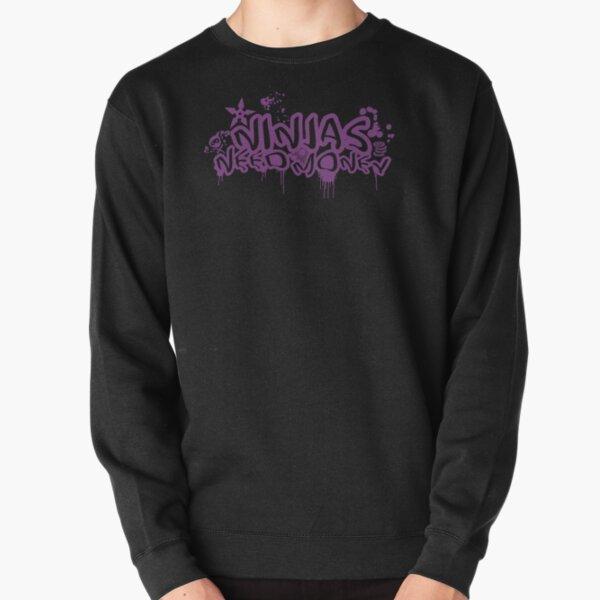 URBAN NINJA PURPLE Pullover Sweatshirt