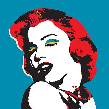 Marylin Monroe vector art by NoraMohammed