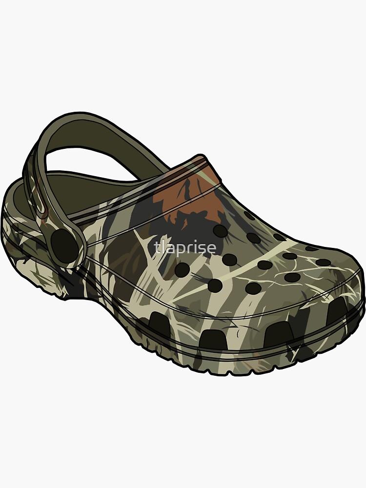Crocs camo clog Shoe by tlaprise