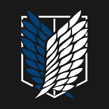 Attack On Titan Logo Phone Case by MelenchonJTM
