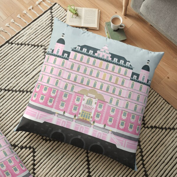 Grand Budapest Hotel  Floor Pillow