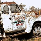 Route 66 Tow Truck by Catherine Sherman