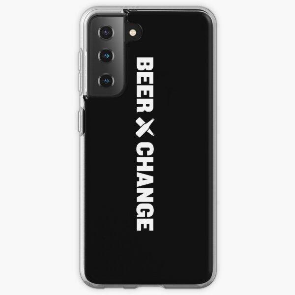 BeerXchange Black-on-White Vertical  Samsung Galaxy Soft Case