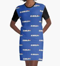 G.I.M.OLD Graphic T-Shirt Dress