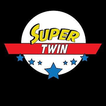 Super twin, #twin  by handcraftline