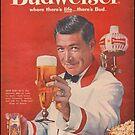 Budweiser Vintage Print von SchnappiimHaube