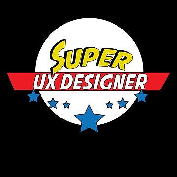 Super UX designer, #UX designer  by handcraftline