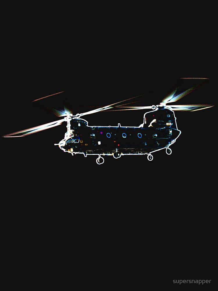 Chinook Helicopter by supersnapper