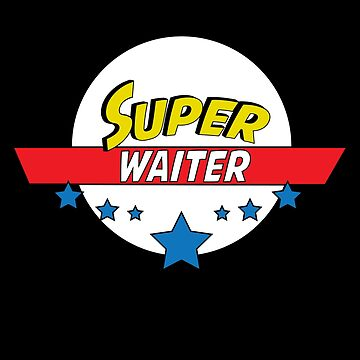 Super waiter, #waiter  by handcraftline