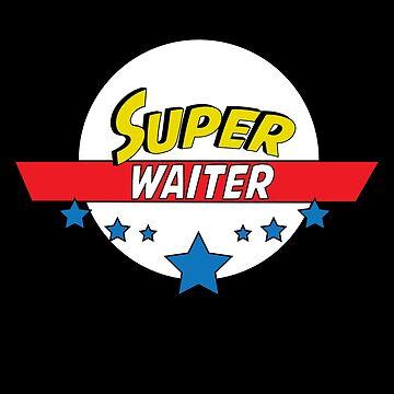 Super waiter, #waiter  by handcraftline