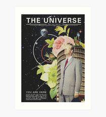 Das Universum Kunstdruck