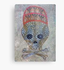Serge Pichii Dia de los muertos 0001 Metal Print