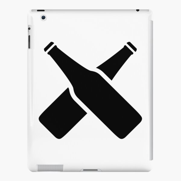 Black BeerXchange Bottles - Large iPad Snap Case