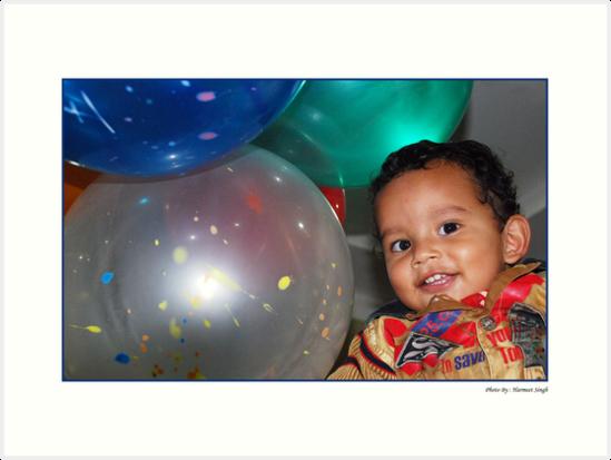Birthday boy by Dr. Harmeet Singh