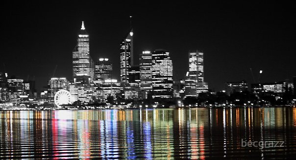 Perth CIty by becgrazz