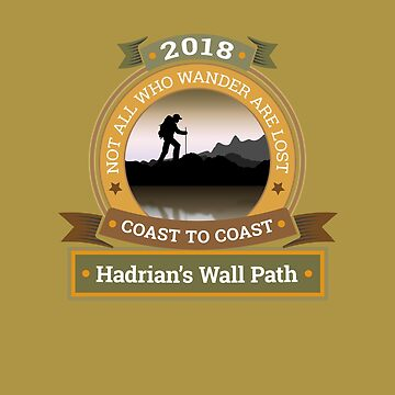 I walked The Hadrian's Wall Path 2018 by manbird