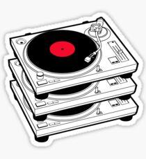 GRAMOPHONES RECORD PLAYERS Sticker