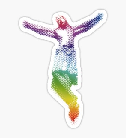 Spectrum Christ Sticker