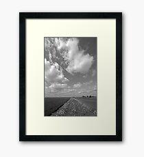 Fenland, Cambridgeshire, UK Framed Print
