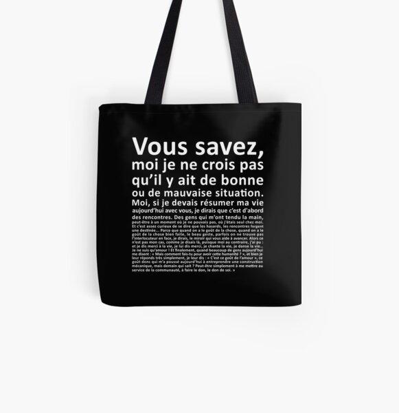 Monologue d'Otis All Over Print Tote Bag
