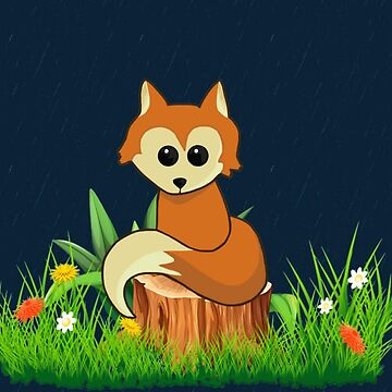 Fox Pose by Italianricanart