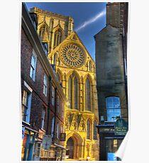 Rose Window - York Minster Poster