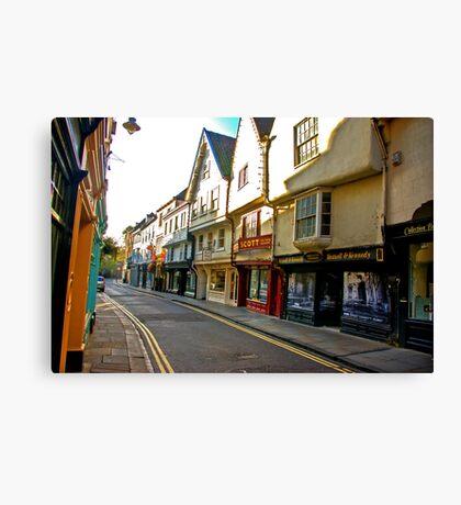 Low Petergate - York #2 Canvas Print