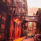 New Yorker Straße von Vivienne Gucwa