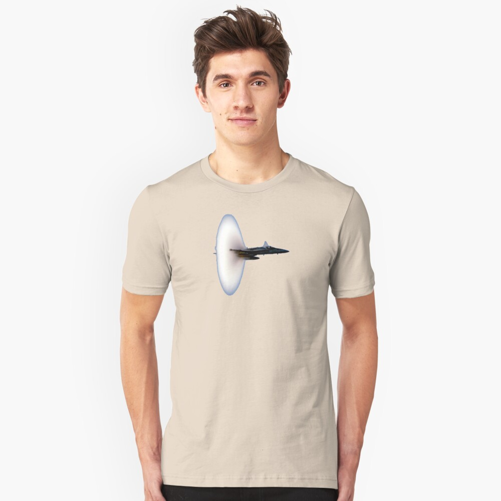 Breaking the sound barrier Unisex T-Shirt Front