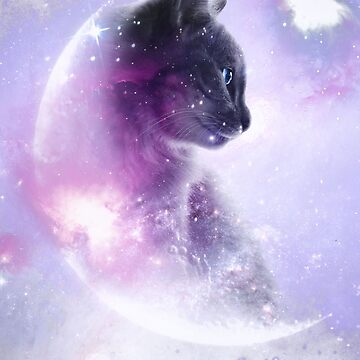 Galaxy cat by Destroyed-Pixel