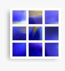 Dark Blue Dutch Iris Metal Print