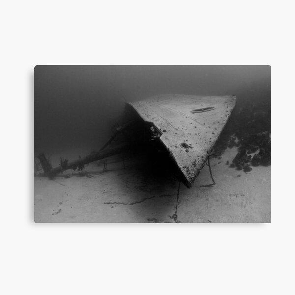 Shipwreck's Bow Canvas Print