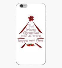1 st Merry Christmas Mr & Mrs, happy new year iPhone Case