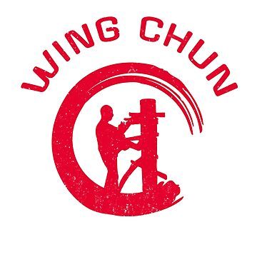 Wing Chun Kung Fu With Enso Circle  by DeLaFont