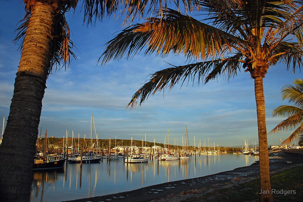 Boat Harbour Bowen by Janette Rodgers